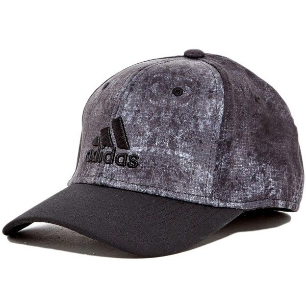 ed1ede0acc4 adidas Adizero Scrimmage Stretch Fit Cap ( 20) ❤ liked on Polyvore  featuring accessories