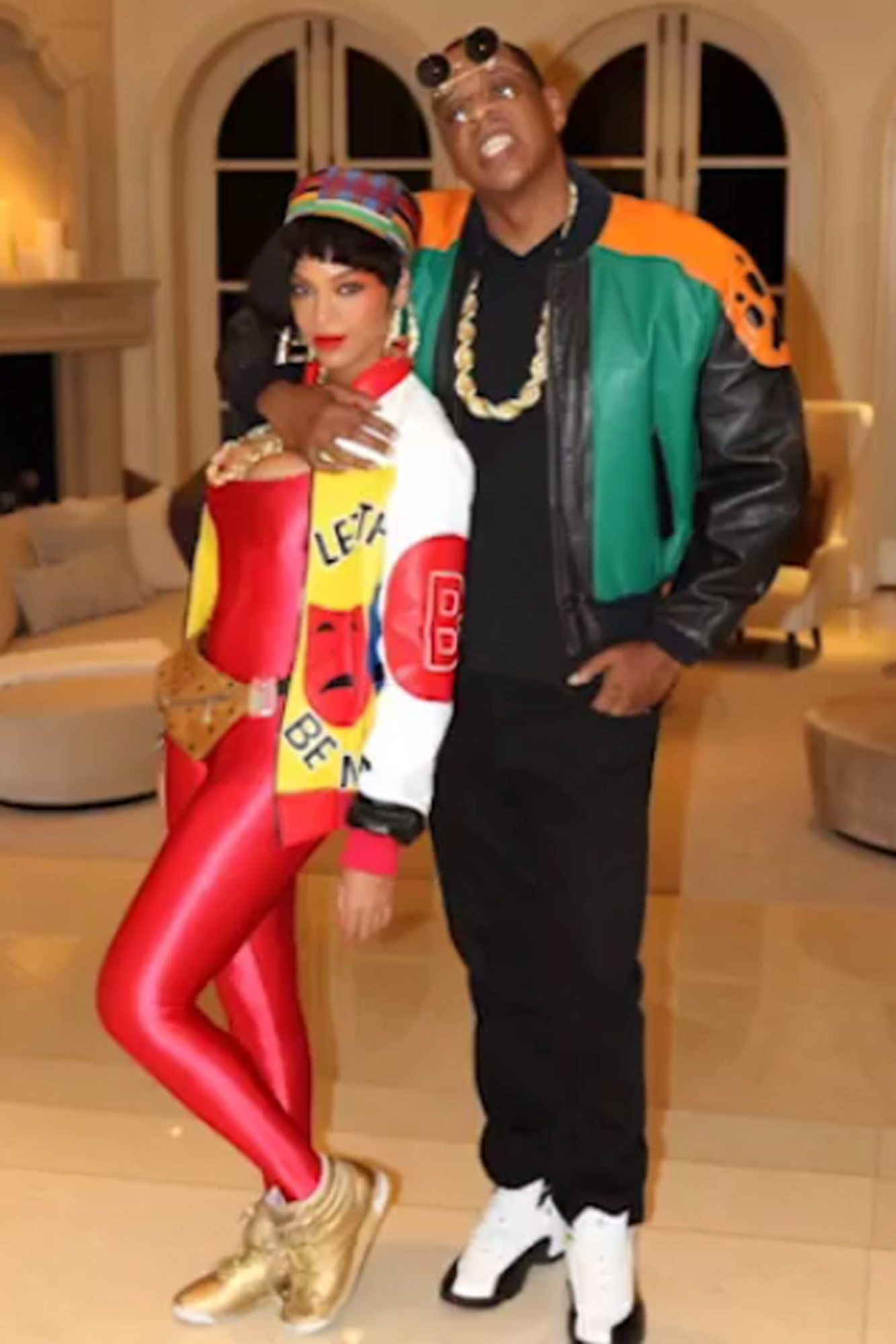 Beyoncé and JAYZ's Family Halloween Costumes Through The