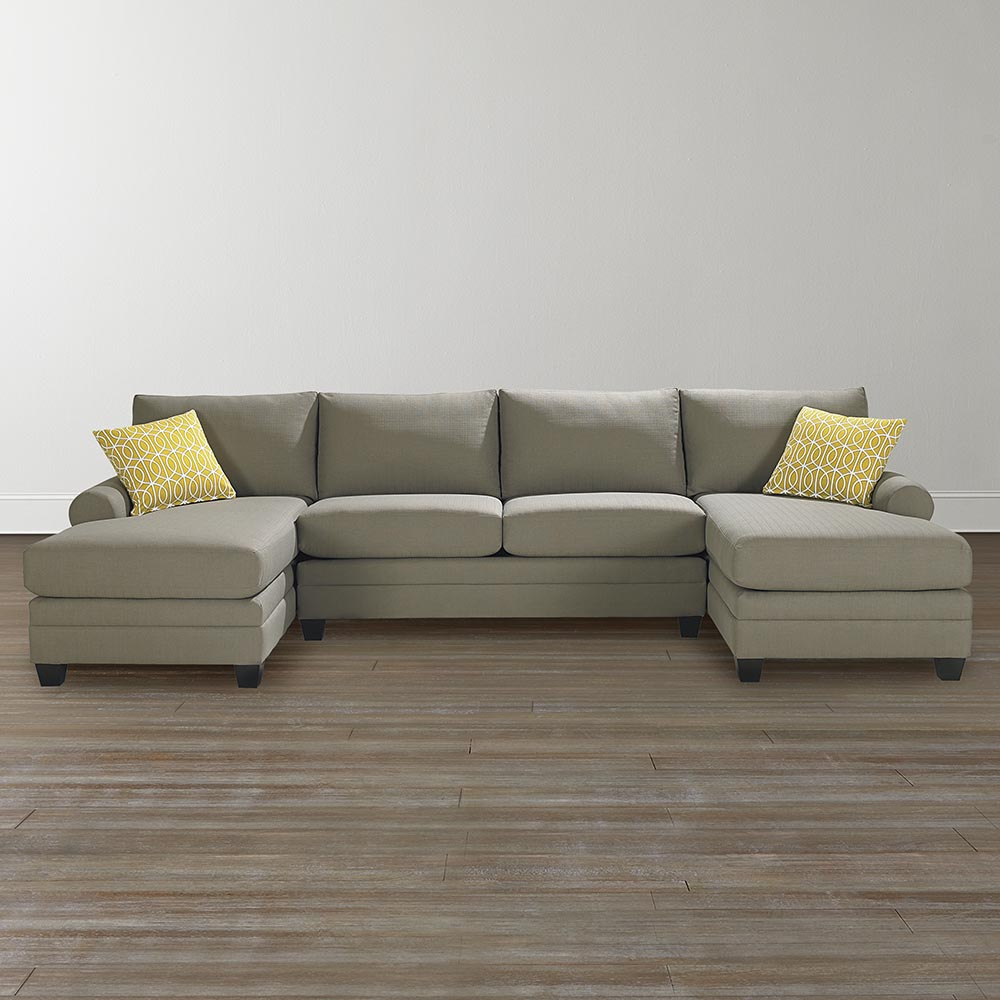 Cu 2 Double Chaise Sectional Double Chaise Sectional U Shaped