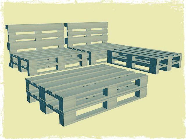 panche e tavoli con i pallet lake house diy furniture