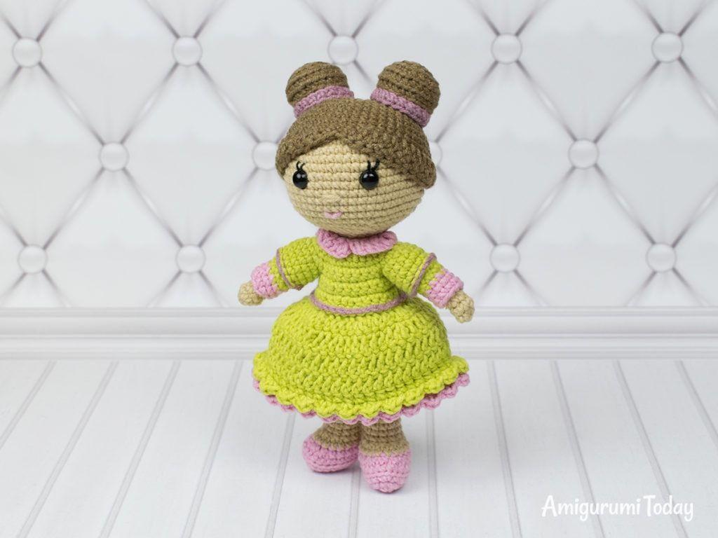 Little lady doll crochet pattern | amigurumi | Ganchillo gratis ...