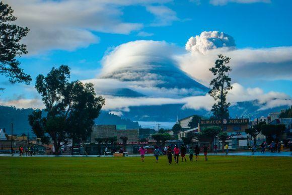 Volcán Santa María.
