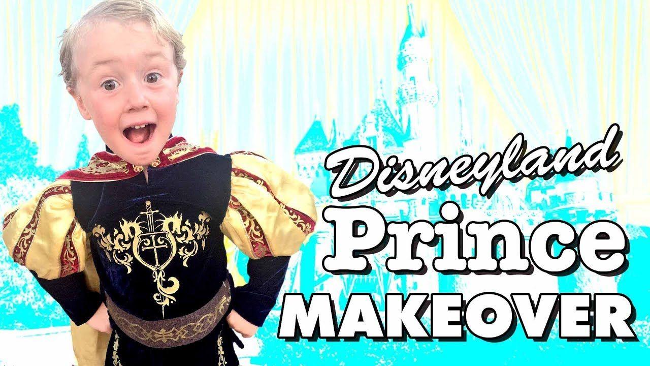 Prince Makeover At Disneyland S Bibbidi Bobbidi Boutique Cute