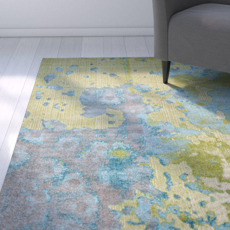 Best Deborah Teal Lime Area Rug Rugs Area Rugs Living Room Plan 400 x 300