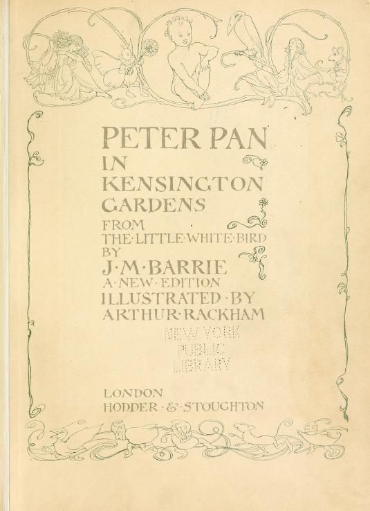 c2dd686bbd9ac7a45fdfa67beb4ce967 - The Little White Bird Or Adventures In Kensington Gardens