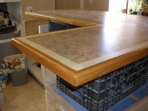 Countertop Edging Trim Bing Images