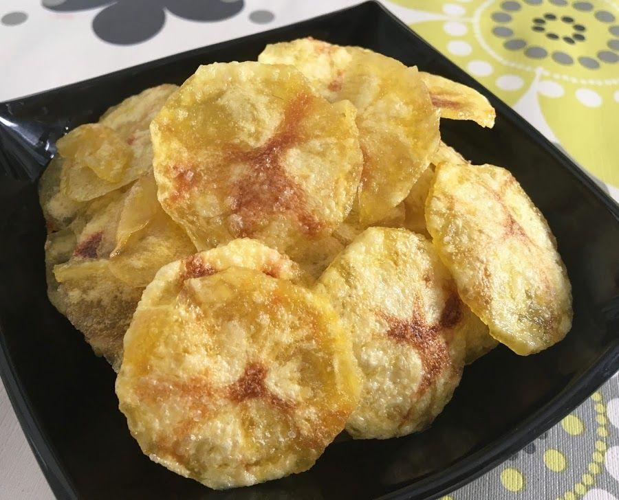 Patatas Fritas Hechas En El Microondas Patatas Fritas Patatas Recetas De Comida