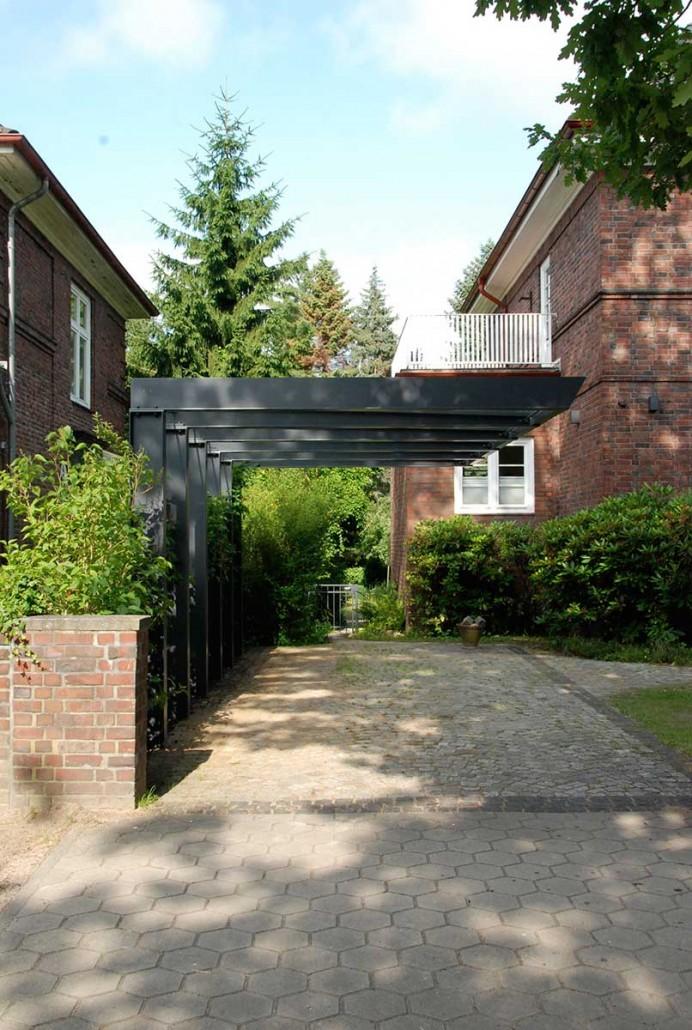 Carport Architektenstudio Melzer Moderne Pergola Im Freien Hintergarten