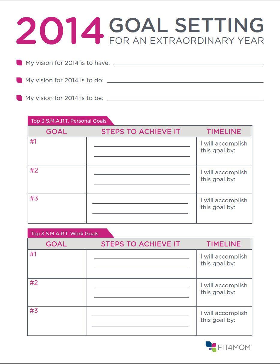 Goal Setting For 2016 Template Calendar Rkztyo1a