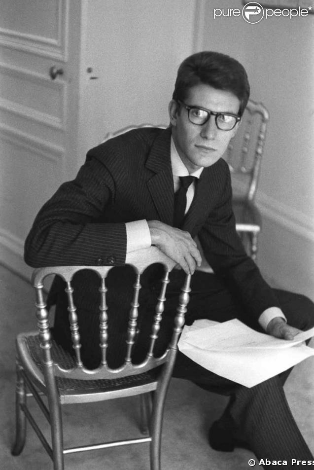 Yves Saint Laurent . 1962 .