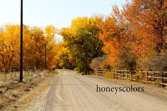 I Got This Picture This Past Fall Driving In And Around Aztec Nm Landscape Photography Plein Air Landscape Landscape