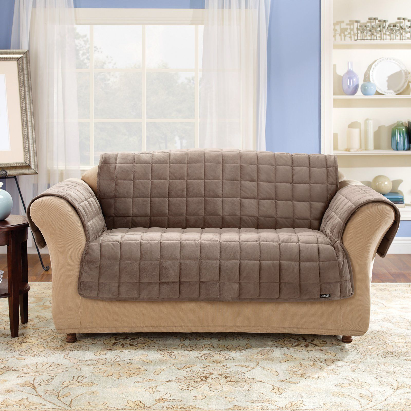 Incredible Sure Fit Deluxe Sofa Pet Cover In 2019 Products Machost Co Dining Chair Design Ideas Machostcouk
