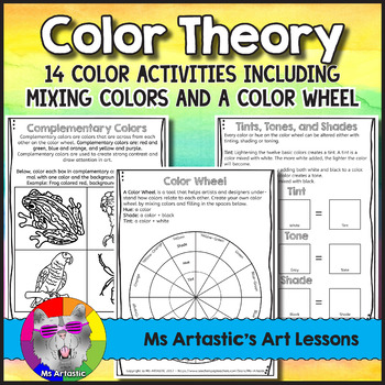 Color Wheel And Color Theory Art Lessons Color Theory Warm