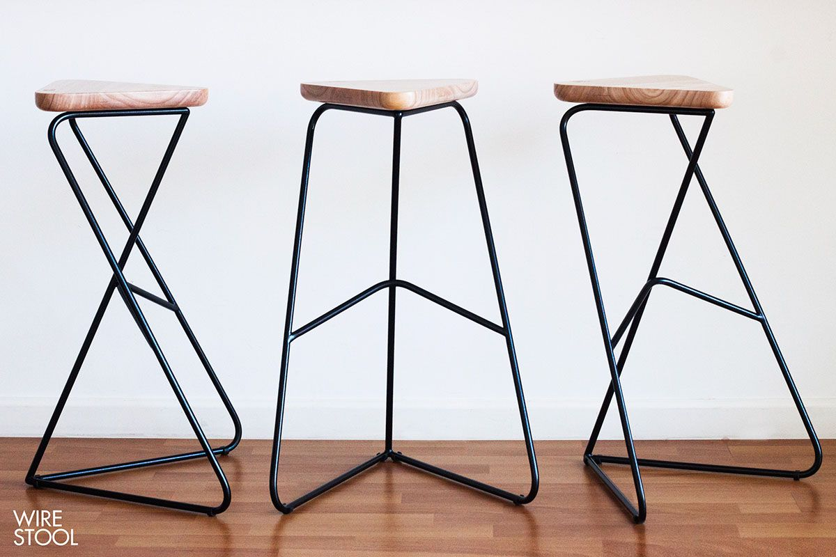 Wire stool on behance inspirations sgabelli sedie e progetti