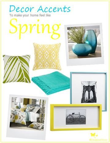 Best Decorating For Spring Blue And Yellow Home Decor Accents 400 x 300