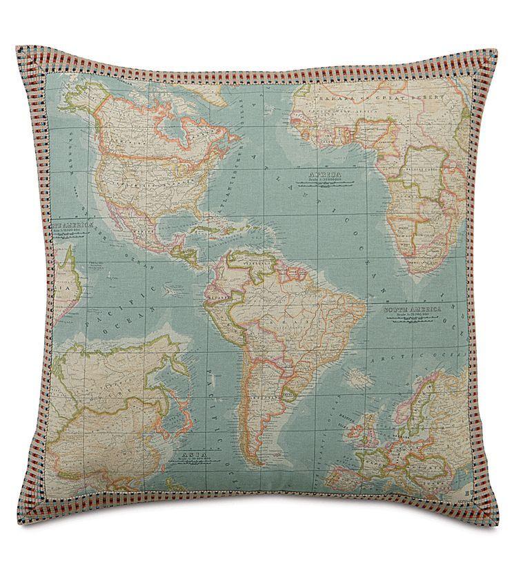 Kai Monde Border Decorative Pillow