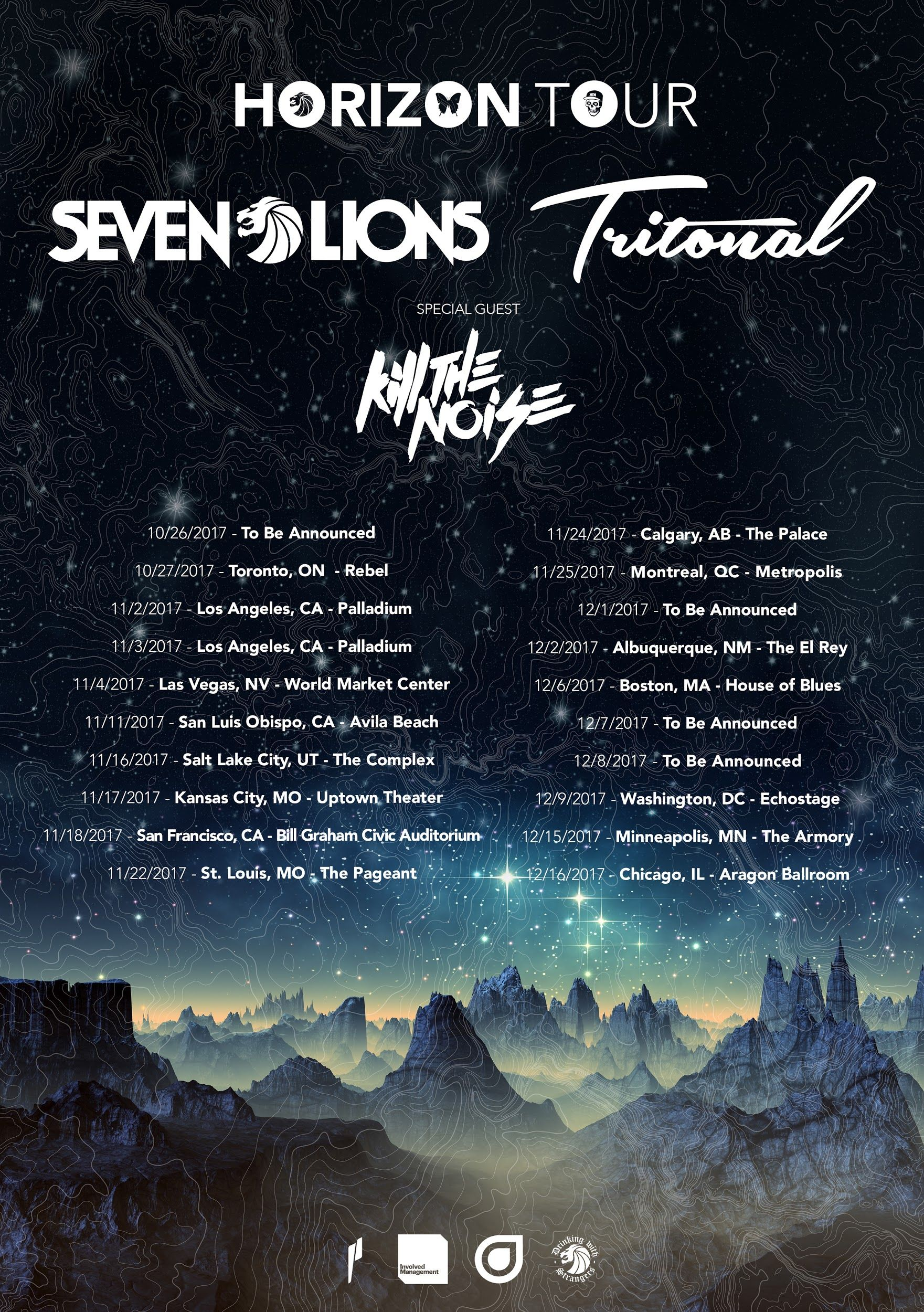 housemusic Seven Lions and Tritonal Announce North American