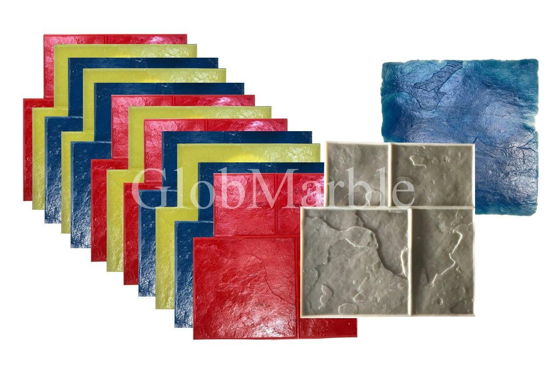 Concrete stamps rental beton