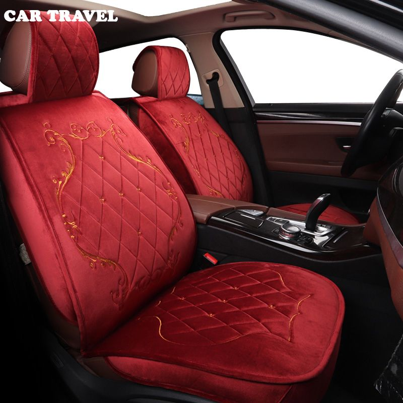 Phenomenal Us 154 69 Car Travel Faux Fur Car Seat Covers Set For Pabps2019 Chair Design Images Pabps2019Com