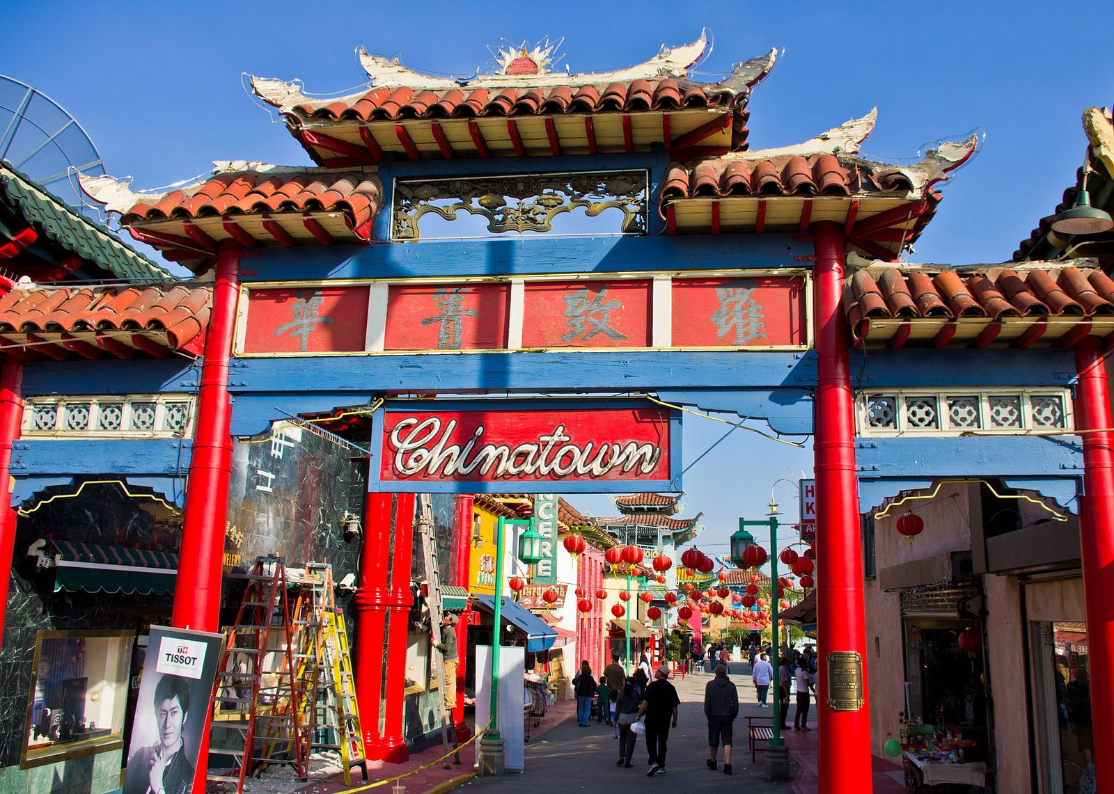 Chinatown Is Located About Two Blocks From Union Station In Downtown Los Angeles Chinatown S 16 Square B Chinatown Los Angeles Chinatown Los Angeles San Diego