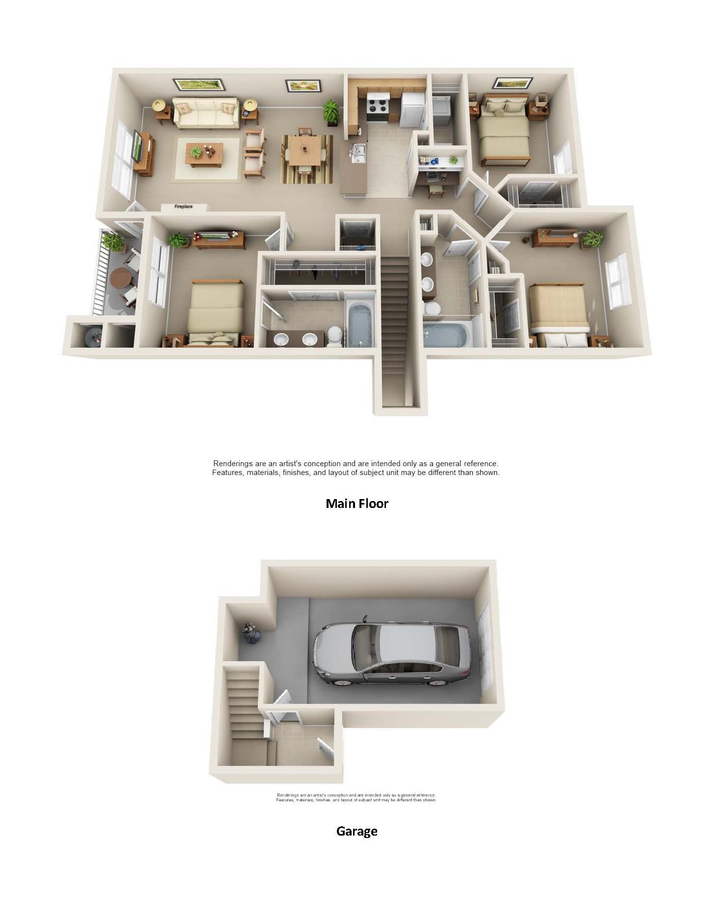 Luxury Two & Three Bedroom Apartments in Florence, KY