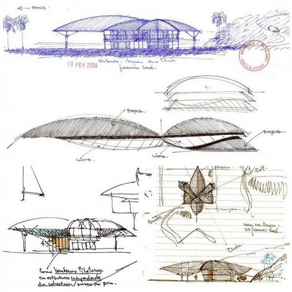 Leaf House In Brazil Architecture Concept Drawings Concept