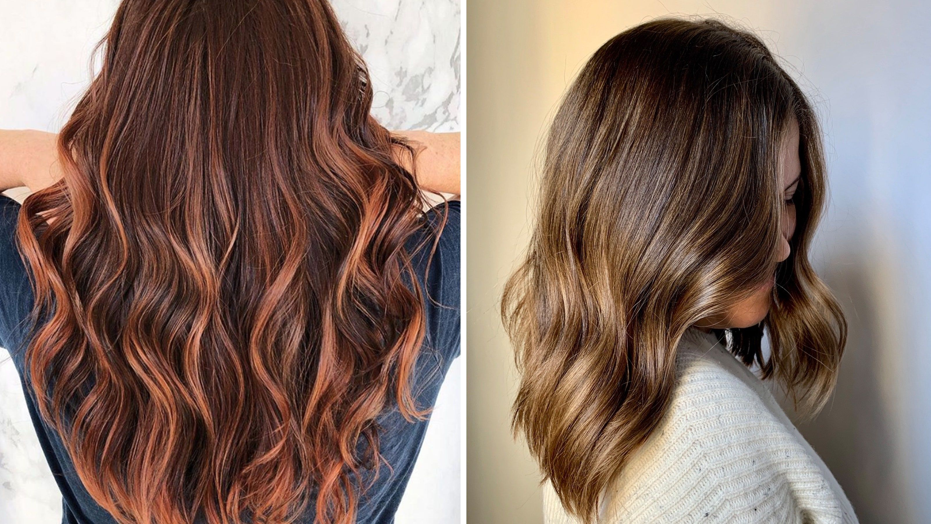 Thin Long Round Face In 2020 Korean Hair Color Hair Color Trends Hair Styles