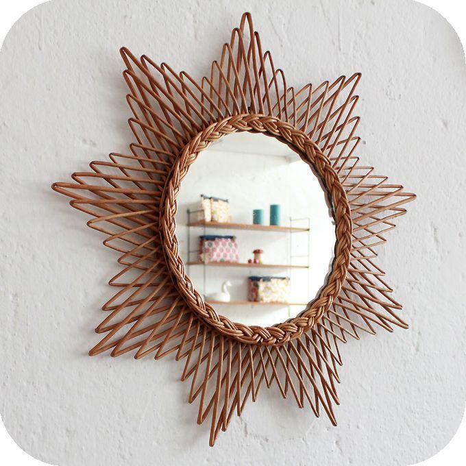 miroir osier