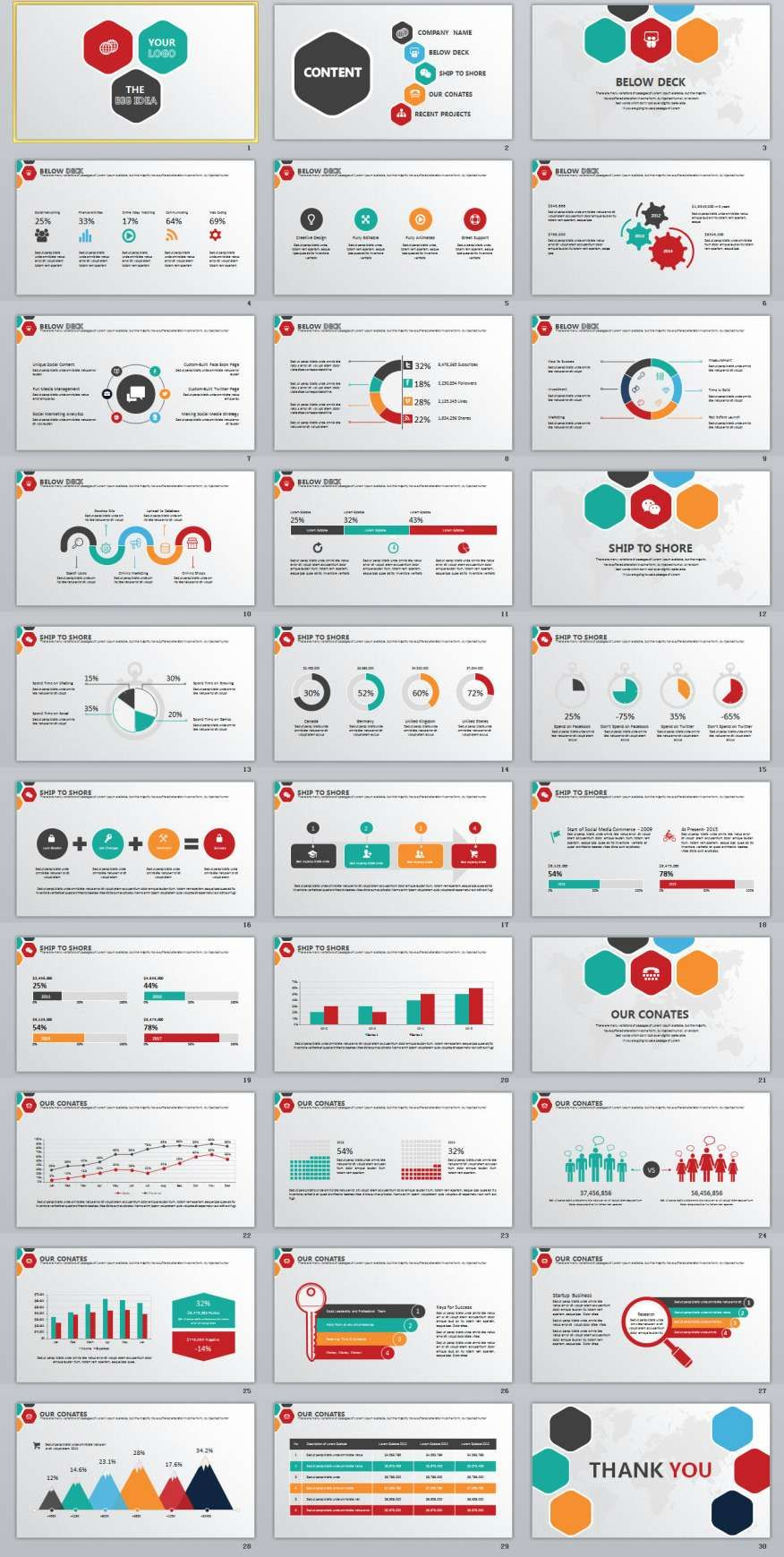 30multipurpose infographics powerpoint templates 2018 annual 30multipurpose infographics powerpoint templates alramifo Images