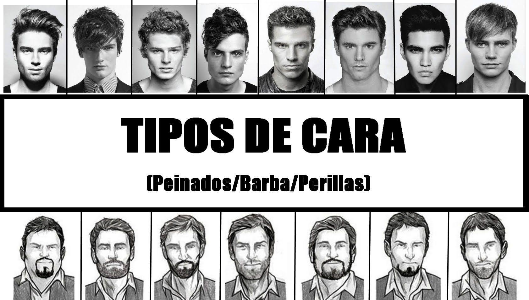 Tipos De Cara Tipos De Cara Hombre Tipos De Cara Peinados De Hombre
