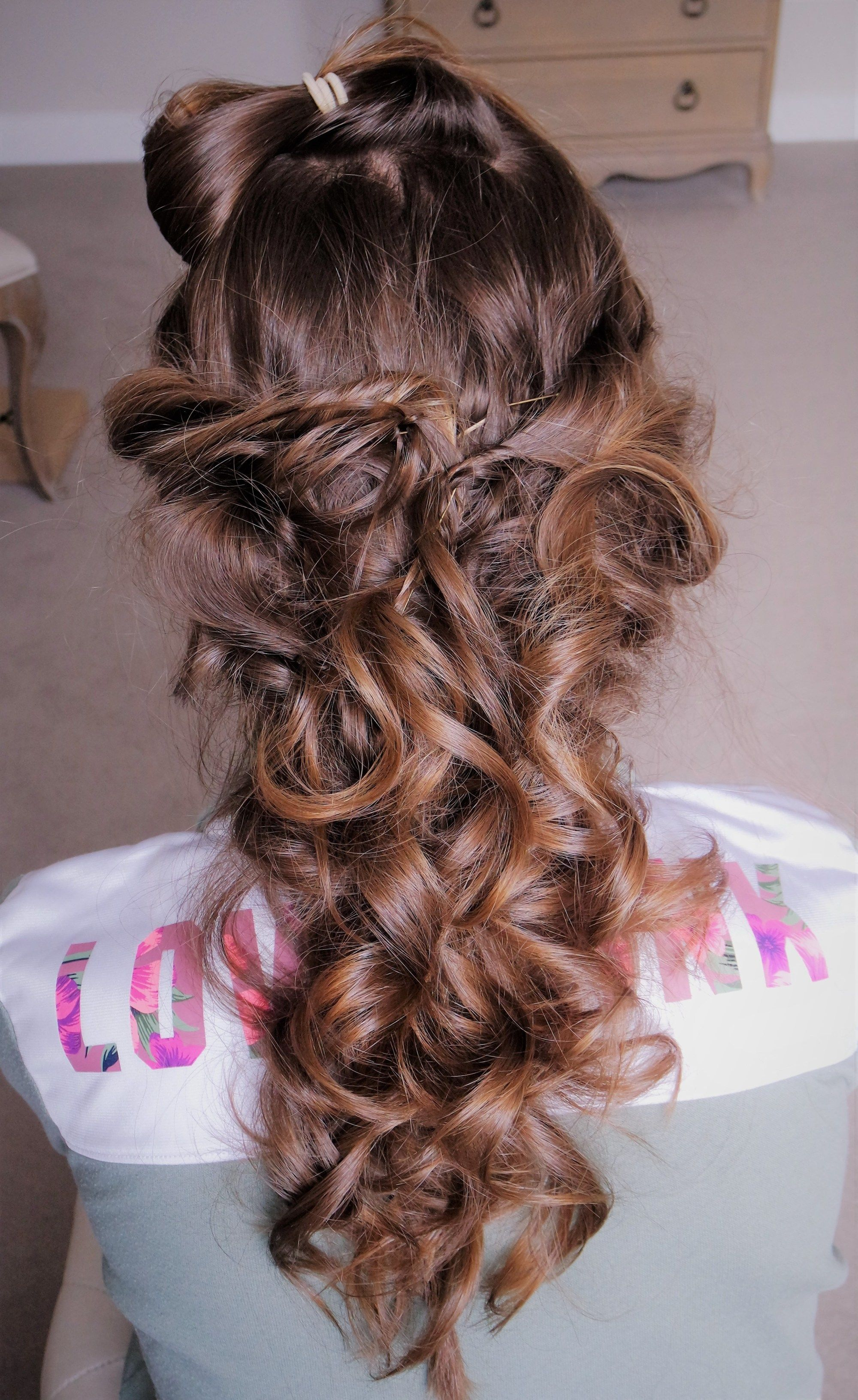 44++ Updo hairstyles with clip in extensions inspirations