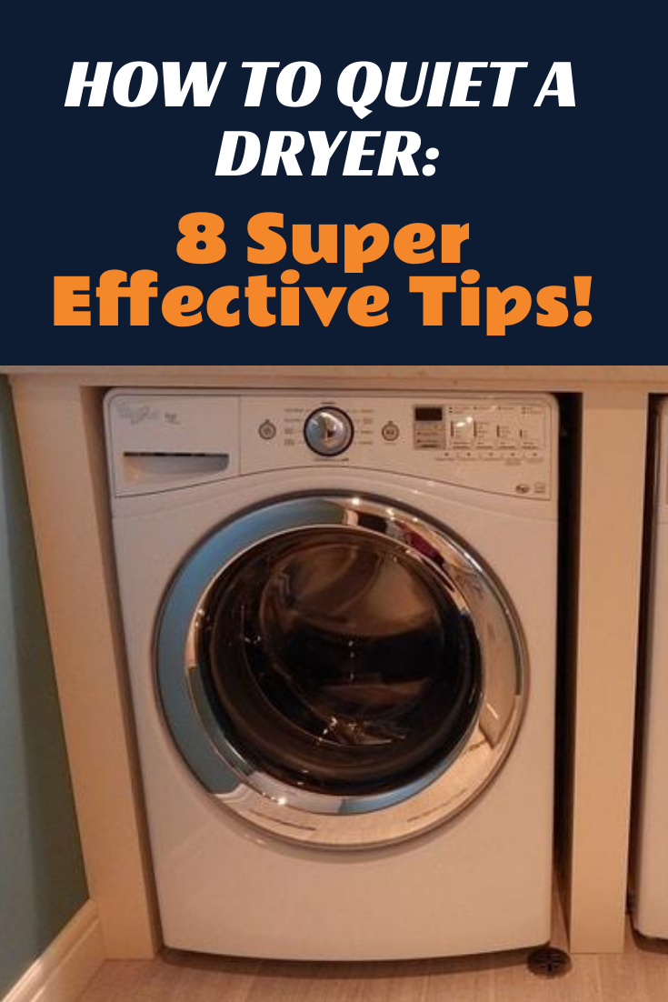 How To Quiet A Tumble Dryer Sound Proofing Dryer Washing Machine And Dryer