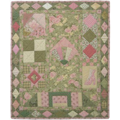 This is my Beginners Sampler quilt pattern. Yes - It is an easy beginner's quilt pattern that teaches the basics of quilting and while you make this lovely wallhanging! http://www.victorianaquiltdesigns.com/VictorianaQuilters/PatternPage/Beginner%27sSampler/BeginnersSampler.htm  #quilting #beginners
