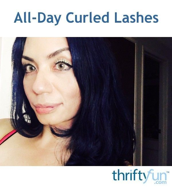 All-Day Curled Lashes   Curl lashes, Beauty tips for face ...