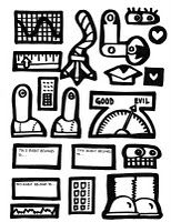 printable robot parts | Art Room Printables | Art sub lessons, Art
