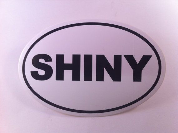 Shiny sticker by NalaSerenity on Etsy, $3.00