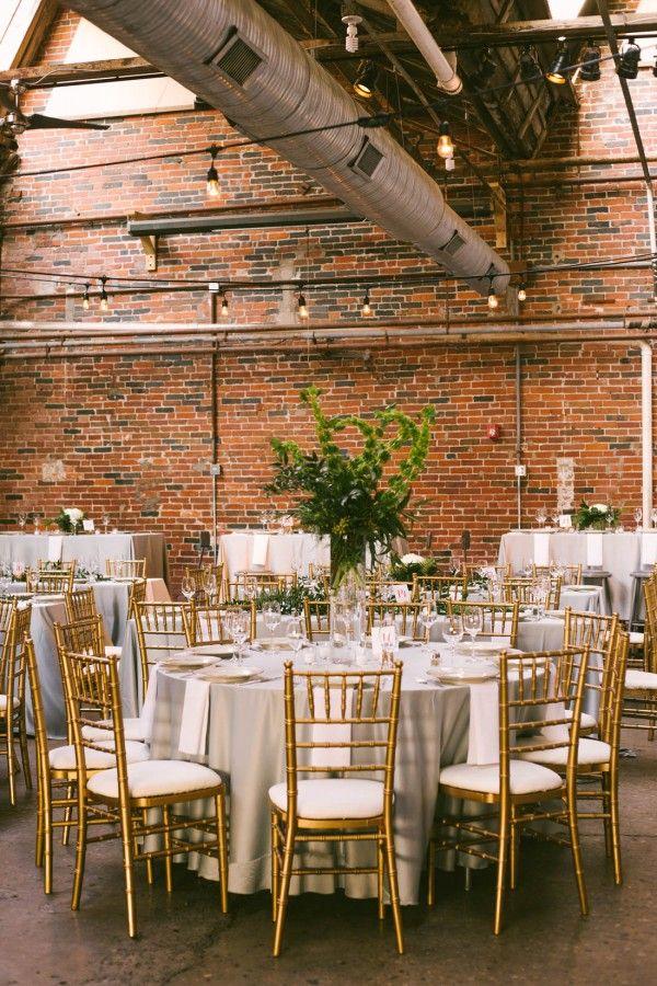 Modern Ohio Wedding At Strongwater Industrial Wedding Venues