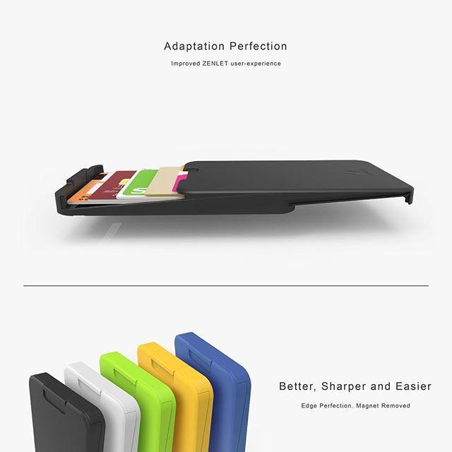 The ZENLET Ingenious Wallet -  #modern #design #wallet #cardholder #recyclable #secured #smartwallet