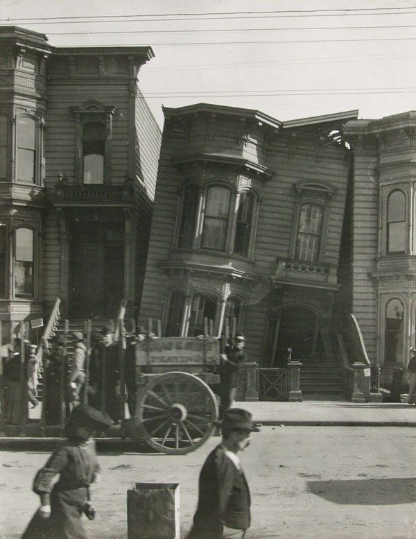 Classic photo fo San Francisco´s earthquake by Arnold Genthe