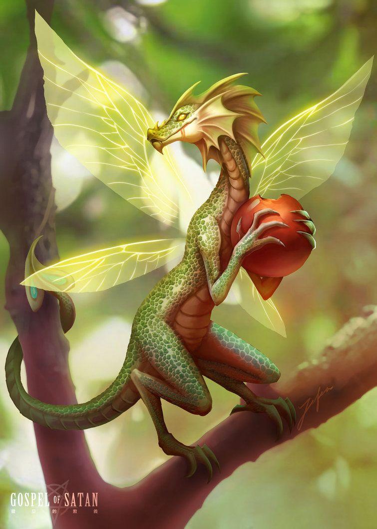 временем драконы сказочные волшебные картинки белого фетра