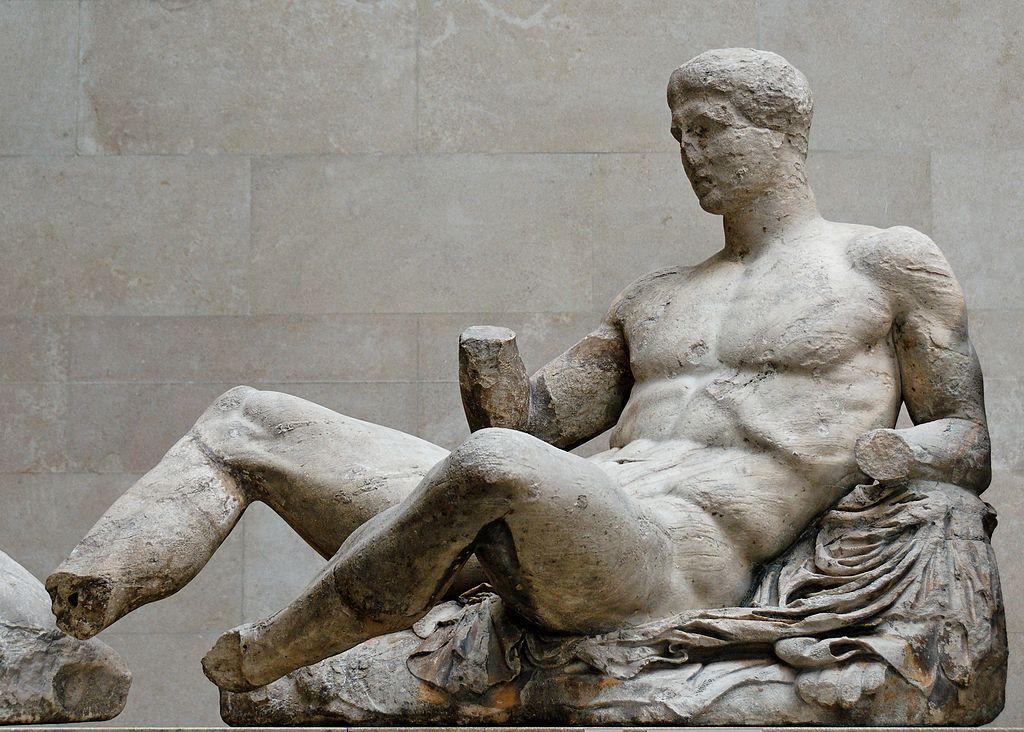 Parthenon Elgin Marbles Statue Parthenon