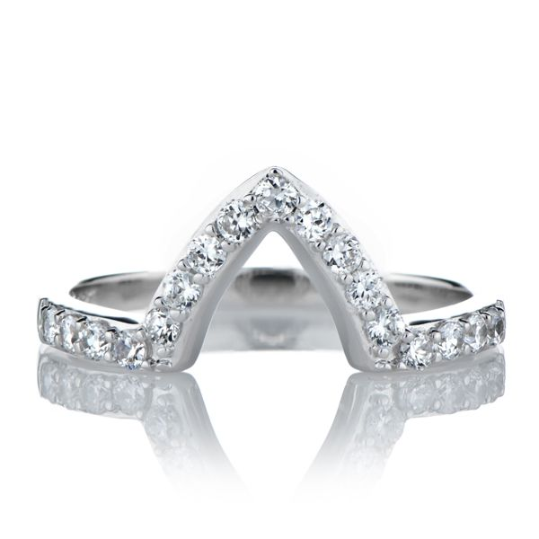 Padgetts Marquise Cut CZ Engagement Ring Guard Marquise cut