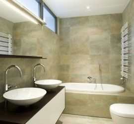 badkamer-1-tegelwerk | Droomhuis - badkamer | Pinterest