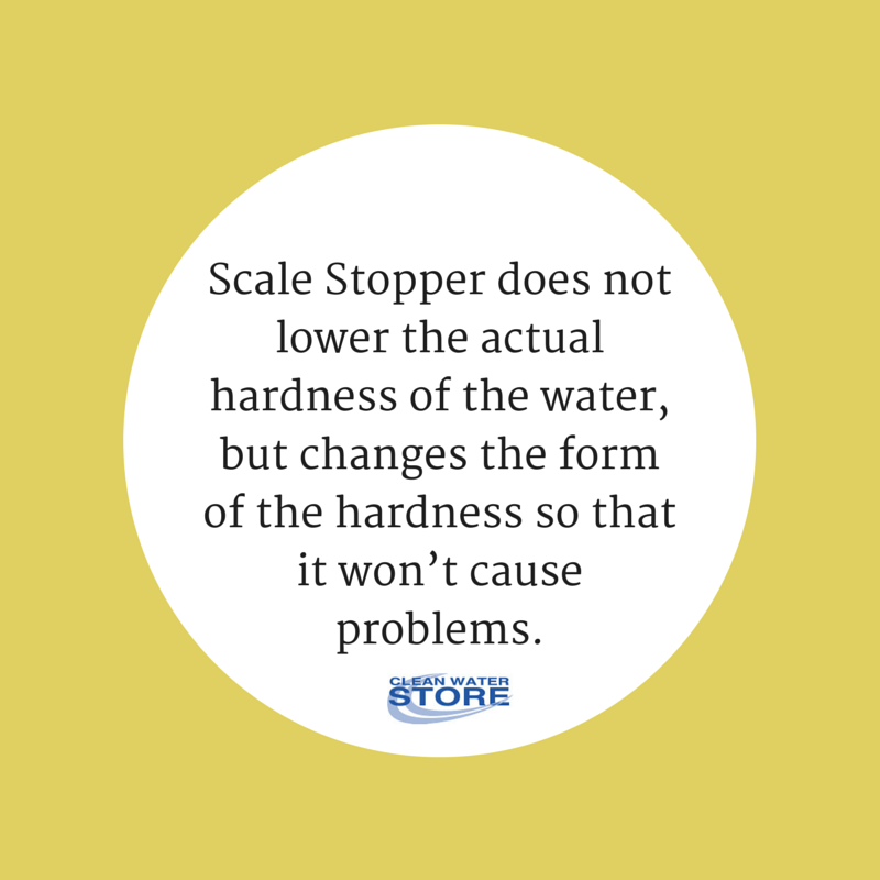 This is exactly how our Scale Stopper works! It's a