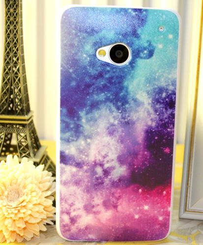 on sale 0b7af 13e94 Pretty Colourful Starry Cloud Cover FOR HTC ONE Scratchproof Mobile ...