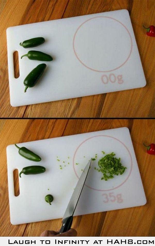 Intelligent cutting board