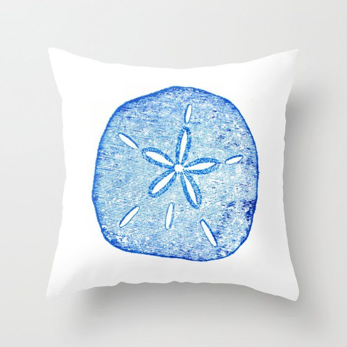 Sand Dollar Throw Pillow in 2020