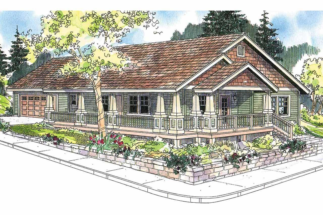 Eplans Craftsman House Plan Three Bedroom