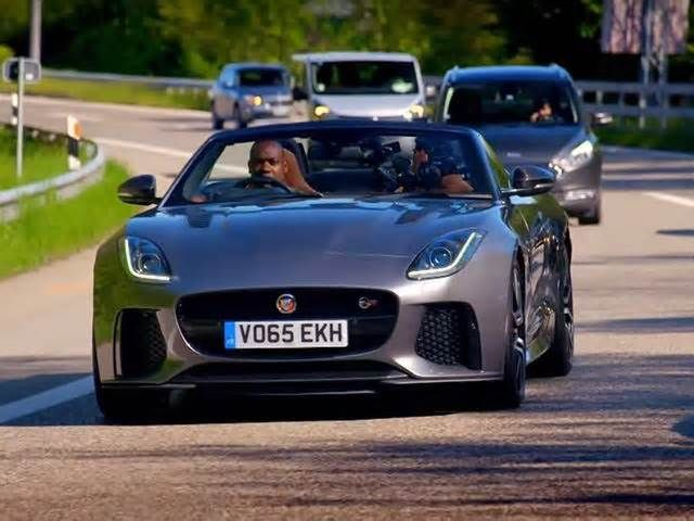 This Jaguar F Type SVR Race Shows Top Gear Still Has A Future #jaguar