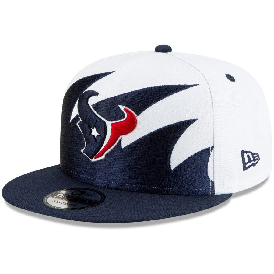 get new high fashion new products Houston Texans New Era Vintage Sharktooth 9FIFTY Adjustable Hat ...